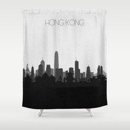 City Skylines: Hong Kong Shower Curtain