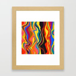 African Heat Framed Art Print