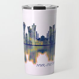 Nur-Sultan Skyline Travel Mug