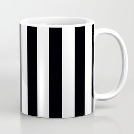 Miami Vice Black Vertical Tent Stripes Florida Colors of the Sunshine State Coffee Mug