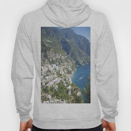 Photo seascape Amalfi Coast Italy Hoody