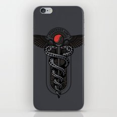 Snakes on a Cane iPhone & iPod Skin