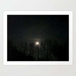 Worm Moon 2019 II Art Print