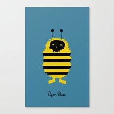 Roar. Buzz. Canvas Print