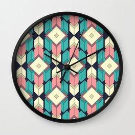 Looping Geometry I Wall Clock