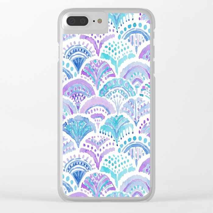 Mermaid Clear iPhone Case