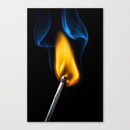 Light that fire! Canvas Print