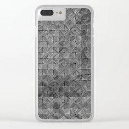 Ink Stitch: Slate Clear iPhone Case