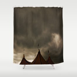 Glastonbury Sunshine Shower Curtain