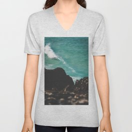 Coastal Wave Unisex V-Neck