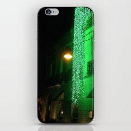 Green Cascade iPhone Skin