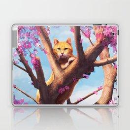 Cat in tree Laptop & iPad Skin