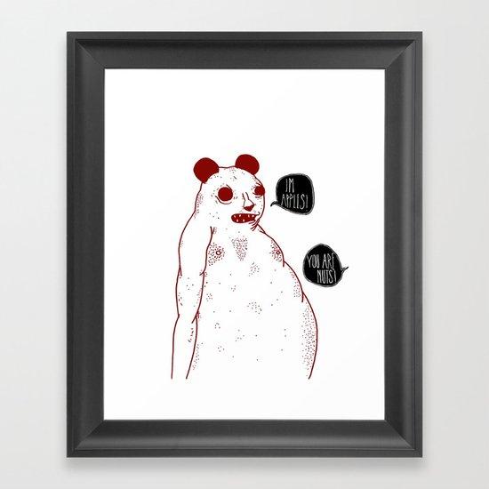 im apples Framed Art Print