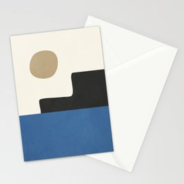 abstract minimal 30 Stationery Cards