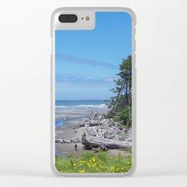 Kalaloch Creek Clear iPhone Case