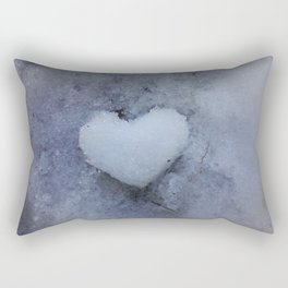 Heart of Ice Rectangular Pillow