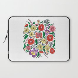 Hungarian embroidery motifs Laptop Sleeve