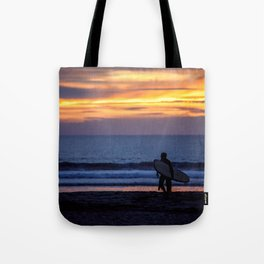 Solo Surfer Tote Bag