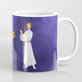 Space Princess Coffee Mug