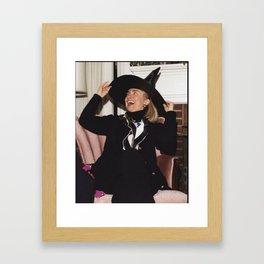 HILL WITCH Framed Art Print