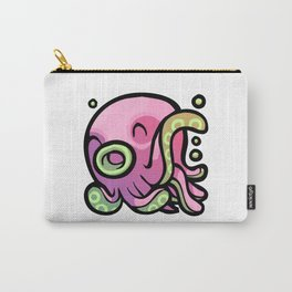 Pink Gorilla X Enfu Octopus Carry-All Pouch