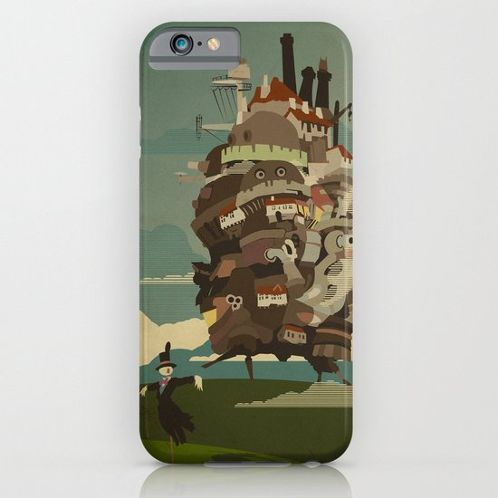 Moving Castle iPhone & iPod Case
