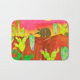 Armadillo Sunset Bath Mat