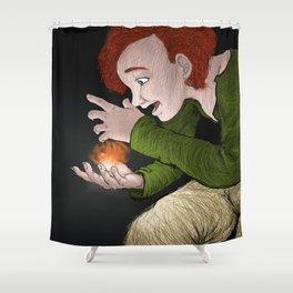 Young Loki 1 Shower Curtain