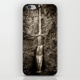 Waterfalls-B&W-Sepia iPhone Skin