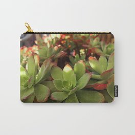 Fat Plant Flowers Carry-All Pouch