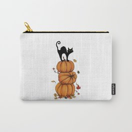 Helloween cat Carry-All Pouch