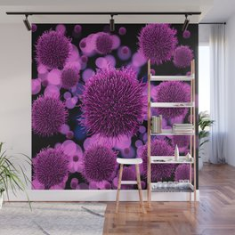 illustrations viruses germs Wall Mural