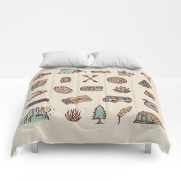 Lets Go Camping Comforters