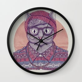 So Hipster Wall Clock