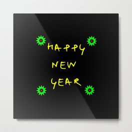 happy new year 11 Metal Print