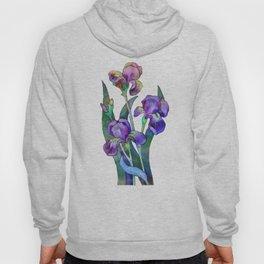 Fantasy Irises Hoody