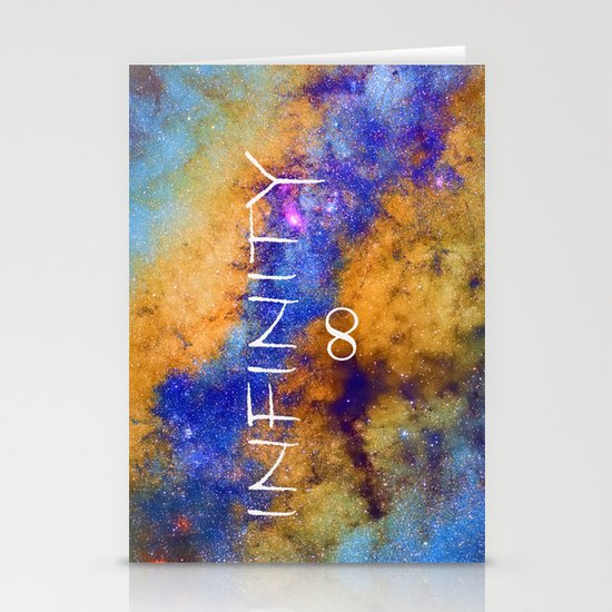 Infinity stars in Sagittarius constelation ∞ Stationery Cards