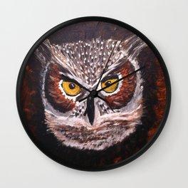Night Owl... Wall Clock