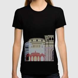 Pune skyline poster T-shirt