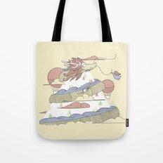 Dragon ride Tote Bag