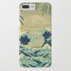 The Great Blue Embrace at Yama iPhone 7 Plus Slim Case