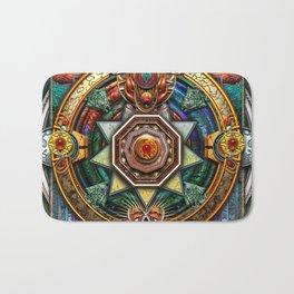 Extraordinary Celtic Mandala Bath Mat