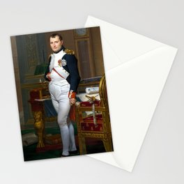 Jacques-Louis David The Emperor Napoleon in His Study at the Tuileries Stationery Cards