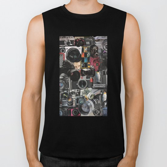 COLLAGE LOVE: How Do You See the World? Biker Tank