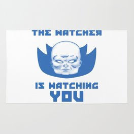 The Watcher Is Watching You Rug