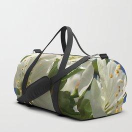 Spring Time Cherry Blossom Duffle Bag