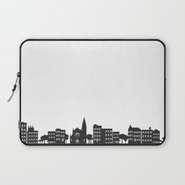 Park Slope Skyline (B&W) Laptop Sleeve