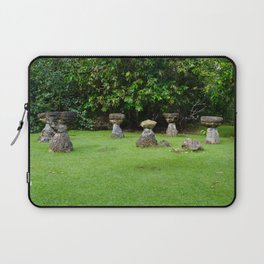 CHamoru Stones of Life Laptop Sleeve