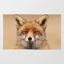 Zen Fox (Red Fox smiling) Rug