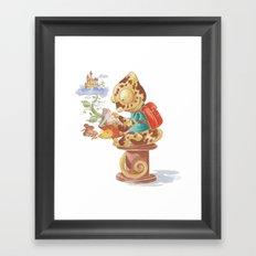 Beans Camelot Framed Art Print